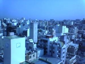 沖縄ホテルからの風景