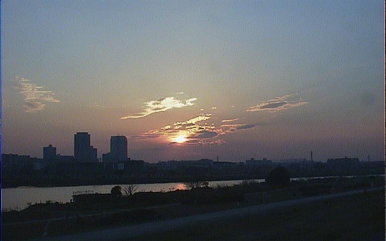 2005/2/13 夕日