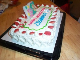 ジェンのケーキ