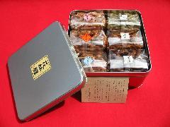 かりんとう6種類詰合(3分の1缶入)