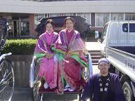 大川木工まつり・かぐや姫