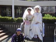 大川木工まつり・和装&洋装の花嫁