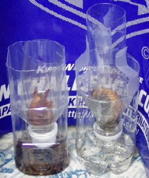 カブトムシ 人工蛹室 ペットボトル