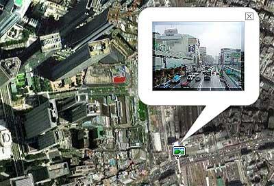 宇宙航空地図 新宿