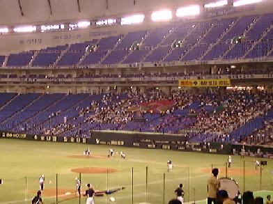 東京ドーム 都市対抗でアントラーズの旗?