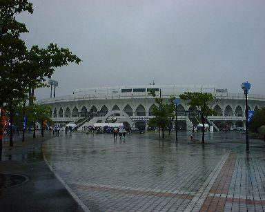 アルペン去年は雨で中止